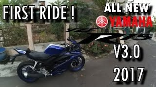 YAMAHA ALL NEW R15 V3.0 2017 First Ride !! | NUNDUK PARAH! | Motovlog Semarang - #82