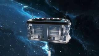 Space Engineers - building Hospital (Blueprint)