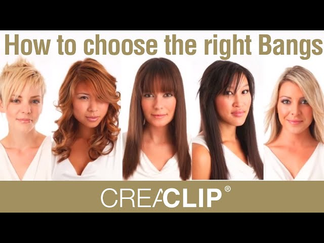 How To Choose The Right Bangs For Your Face Shape Youtube