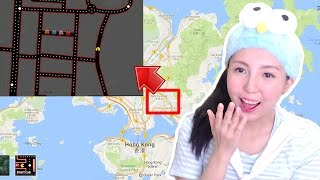 Playing Pac-Man on Google Map! The best April fools pranks 2017! Free HD Video