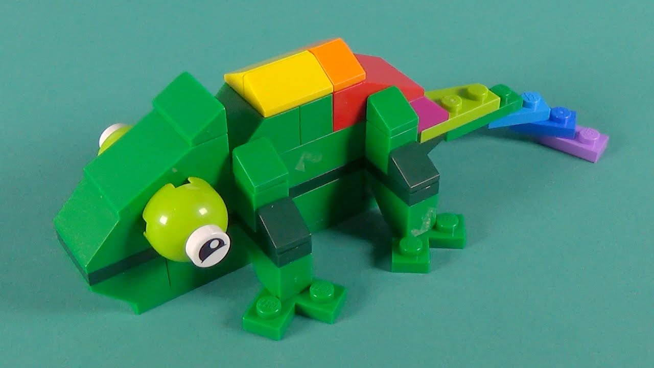 Lego chameleon building instructions lego classic 10697 for Lego classic house instructions