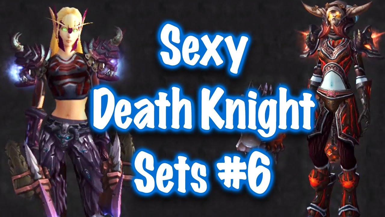 Jessiehealz - 10 Sexy Death Knight Transmog Sets #6 (World of Warcraft) & Jessiehealz - 10 Sexy Death Knight Transmog Sets #6 (World of ...