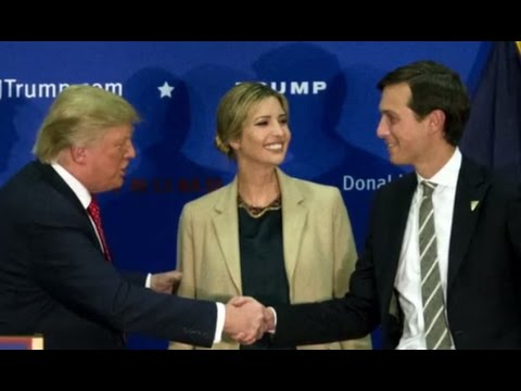 Jared Kushner Selected as Trump Senior Adviser