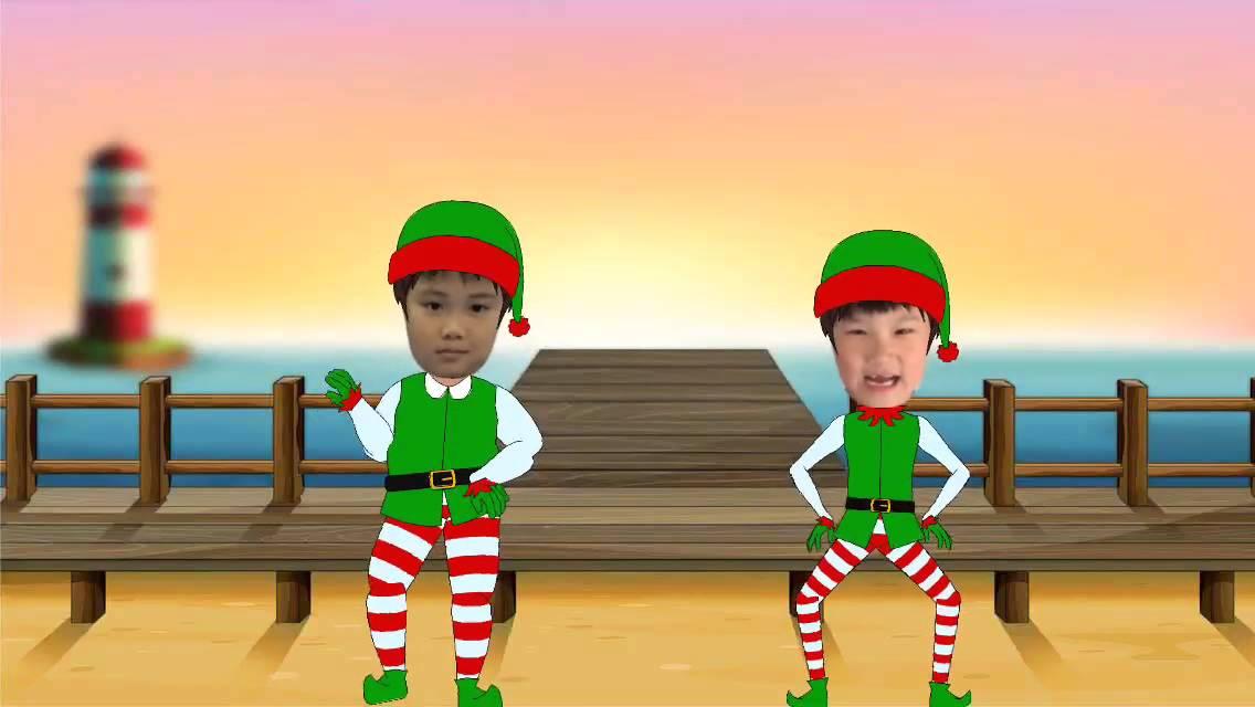animate me christmas dance video maker gameplay