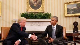 Obama warning Trump about use of executive orders?