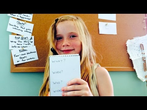9-Year-Old Reporter Breaks Murder Story & Shuts Down Critics