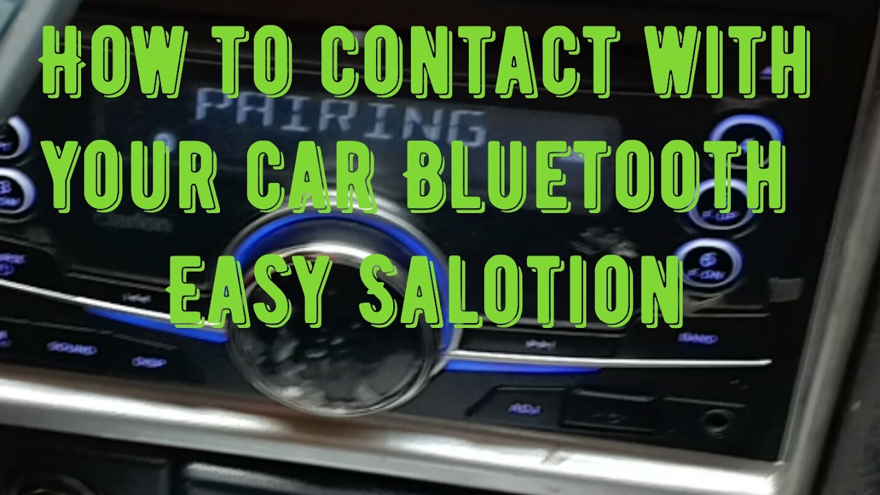 How to connect with your car clarion mobile Bluetooth or pairing