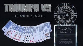 WORLD BEST magic tricks Triumph v5 - Astonishing EASIEST Triumph