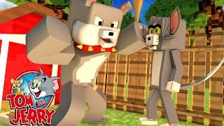 Minecraft: BRIGA DE CÃO E GATO #05 ( TOM E JERRY )