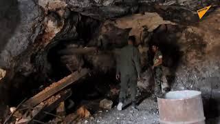 سبوتنيك داخل سراديب الإرهابيين أسفل بلدات ريف إدلب الجنوبي... فيديو