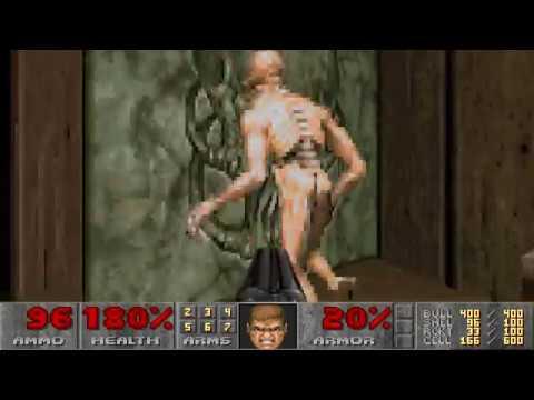 Doom II: Hell on Earth UV-Speed in 19:28 - World Record Speedrun 30uv1928