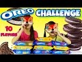 OREO CHALLENGE!!! The Blindfold Cookie Tasting Game!