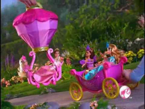 2009 Barbie and the Three Musketeers Magical Balloon Carriage