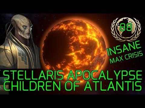 Rebuild Our Fleet! - Stellaris Apocalypse Roleplay CHILDREN OF ATLANTIS Grand Admiral Insane #88 |