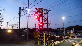 2019/01/30 JR貨物 朝の定番貨物列車5本 1060レに熊谷通運の黄緑コンテナ