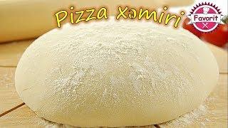 🔵 Pizza xəmirinin düzgün hazırlanması | Pizza hamuru tarifi | Pizza necə hazırlanır