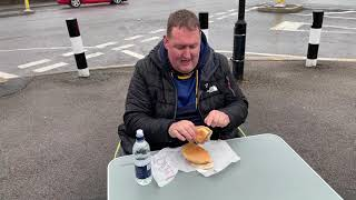 Eating a Famous Sandwich in Sheffield