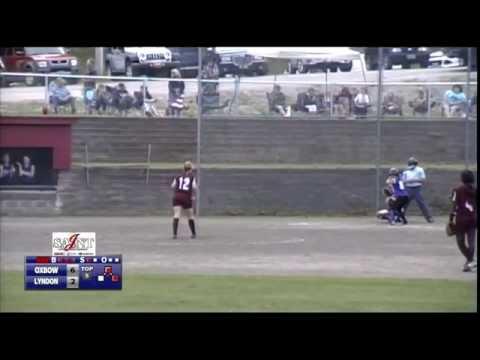 Oxbow vs Lyndon Institute - Softball 5/28/15