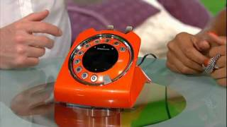 Sagemcom Sixty Retro Cordless Phone as seen on Something for the Weekend