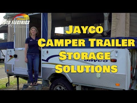 Jayco Camper Trailer Storage Solutions | Accelerate Auto Electrics & Air Conditioning