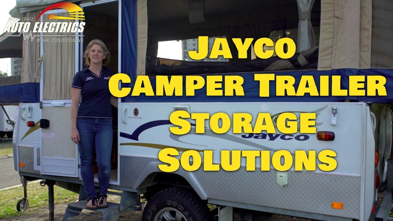 Jayco Camper Trailer Storage Solutions  Accelerate Auto Electrics & Air Conditioning  YouTube