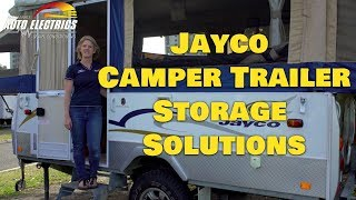 Jayco Camper Trailer Storage Solutions   Accelerate Auto Electrics & Air Conditioning