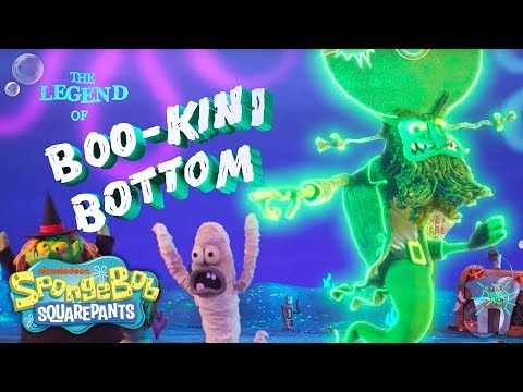 The Legend of Boo-kini Bottom Super Trailer | SpongeBob SquarePants | Nick
