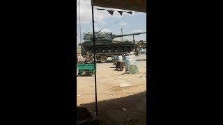 TSK Suriye'nin Tel Rıfaat bölgesine askeri araç sevkiyatı yapıyor..