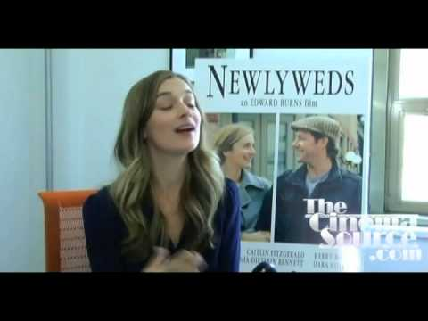 Caitlin Fitzgerald Exclusive Interview for the movie Newlyweds