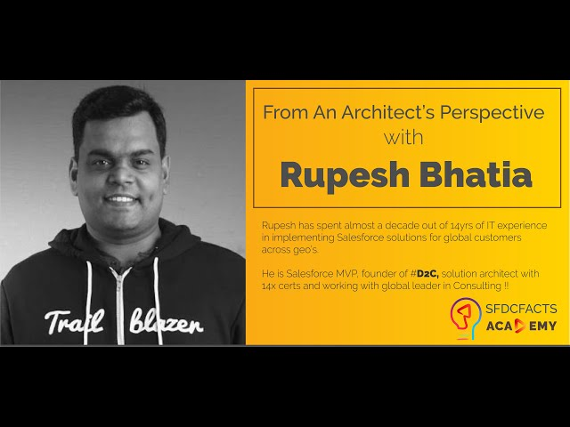 How to be a successful consultant? | Insights from Rupesh Bhatia | Salesforce MVP