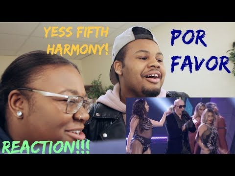 PITBULL/FIFTH HARMONY: POR FAVOR LIVE AT LATIN AMERICAN MUSIC AWARDS (REACTION!!)