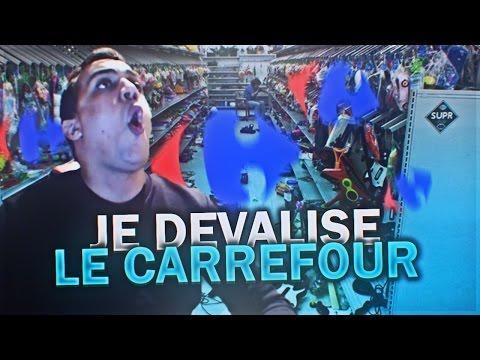 Je Devalise Le Carrefour !!