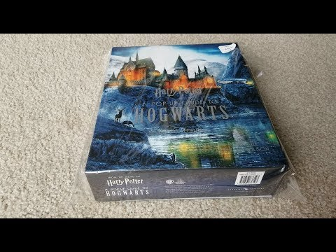 HARRY POTTER A POP UP GUIDE BOOK TO HOGWARTS! 11 24 18