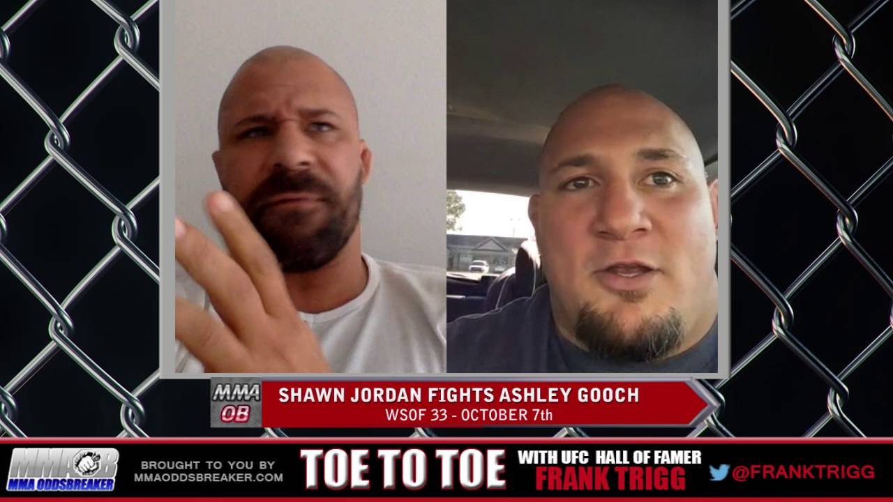 Frank Trigg Interviews WSOF 33's Shawn Jordan: 'Heavyweights are heavyweights, no fight's easy'