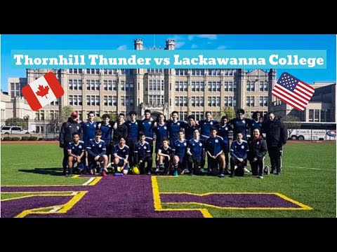 Thornhill Thunder (U-16) vs Lackawanna College (U-24)