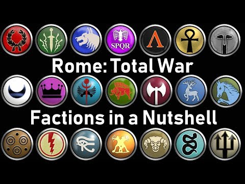 21 Rome: Total War Factions Described In 1 Sentence
