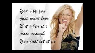 Kelly Clarkson- Breaking your own heart Karaoke/ Instrumental