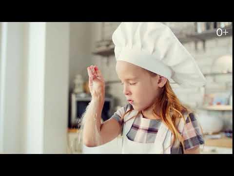 Девочка печет торт с HAAS