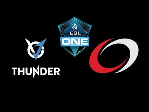 VGJ Thunder vs coL  ESL One Genting 2018 Highlights Dota 2