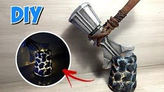 DIY Stormbreaker - novo machado do Thor de Vingadores Guerra Infinita.