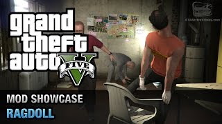 GTA 5 PC - Ragdoll On Demand [Mod Showcase]