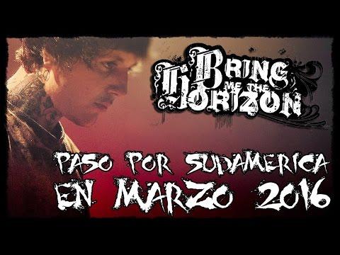 ¿Posible paso de Bring Me The Horizon en Sudamérica Marzo 2016? | NathanManson Noticias