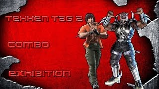 "Tekken Tag 2: Miguel & Armor King Combo Exhibition ""Red Lion"""