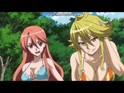 Crying Girl Cartoon Wallpaper Akame Ga Kill Chelsea And Leone Bikini Scene Eng Dub