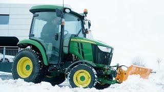Tractores compactos - Utilización invernal