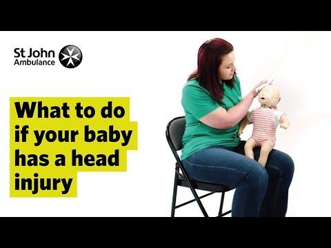 What To Do If Your Baby Has A Head Injury First Aid Training