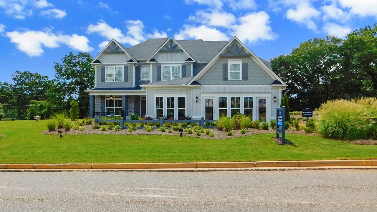 INSIDE A TOLL BROTHERS DECORATED 5 BDRM MODEL HOME N. OF ATLANTA - BP $414,900