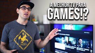 A MELHOR TV para Games!? | TV LG com 4K HDR e HDMI 2.1
