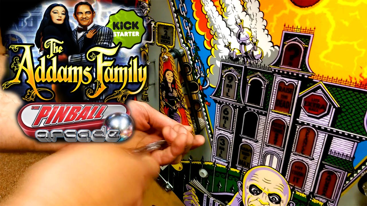 The Addams Family pinball is a jewel in Pinball Arcades crown | WIRED UK