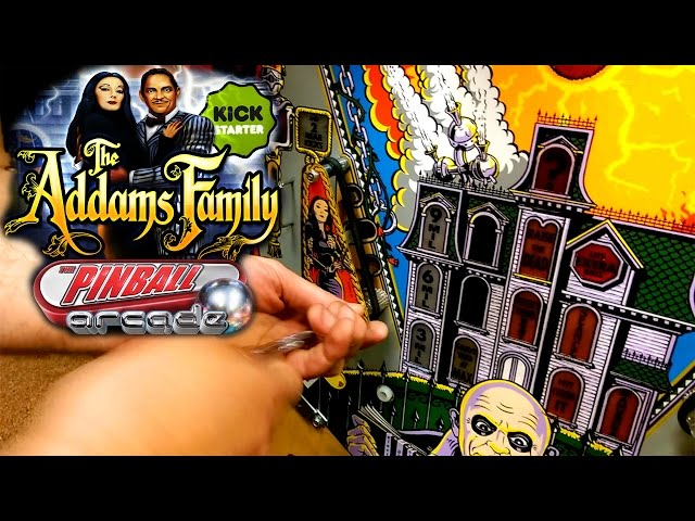Impossible 'The Addams Family Pinball' Video-Game Made